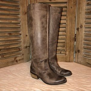 Diba Shoes - Diba tall genuine leather boots. Great condition.